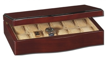 chasingtreasure com jewelry boxes blog men s watch boxes gift the fine maple wood grain of this box will fit any decor and the 12 pillows for watches of all sizes will allow a watch enthusiast to store and