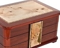 handcrated artisan jewelry boxes