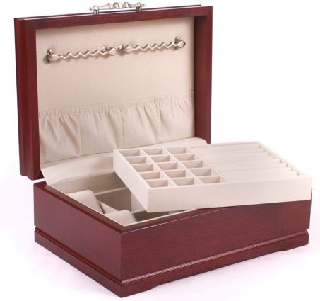 Solid Wood Jewelry Boxes Made in USA