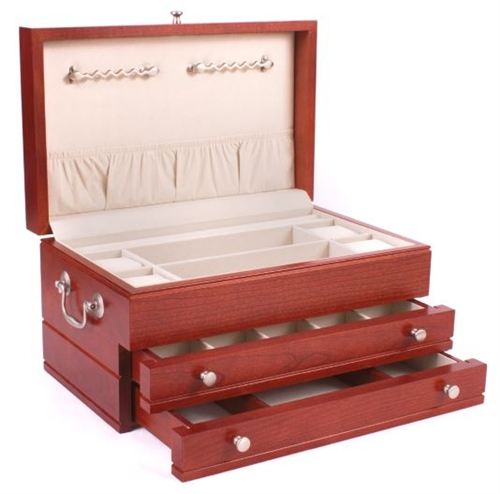 Solid wood jewelry boxes made in usa solid cherry hardwood jewelry boxour price to you 38995add to cart solutioingenieria Images