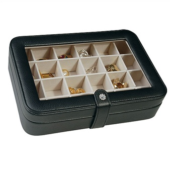 Mele Earring Organizer And Travel Jewelry Case Box