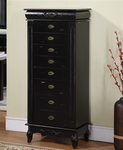 Buy A Floor Standing Jewelry Boxes   Made In USA